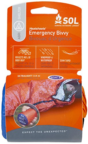 S.O.L. Survive Outdoors Longer S.O.L. 90% Reflective Lightweight Emergency Bivvy