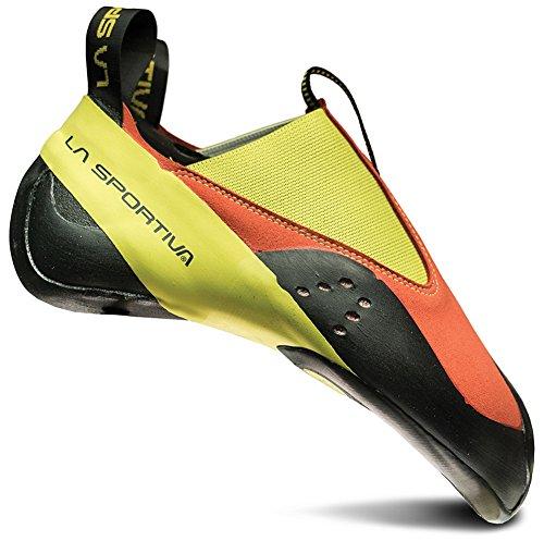 La Sportiva MAVERINK Climbing Shoe, Flame/Sulphur, 40.5