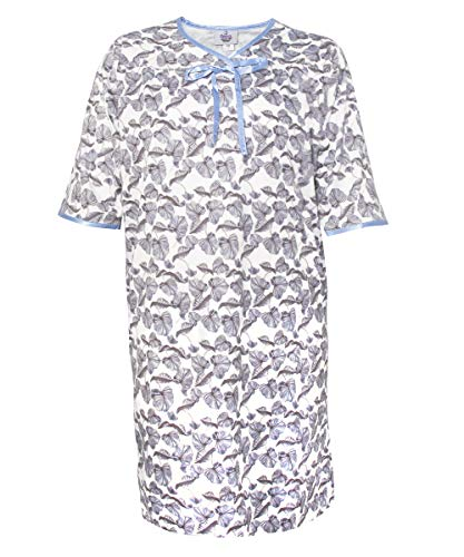 Silverts Disabled Elderly Needs Womens Adaptive Hospital Gown Open Back Regular and (XX-Large, Waterlily)