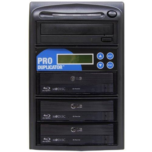 Produplicator 1 to 3 Blu-ray BD BDXL M-Disc CD DVD Duplicator - Standalone Copier Duplication Tower