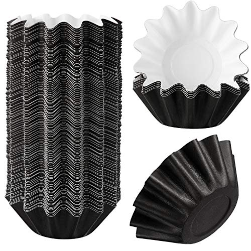 Wax Melt Warmer Liners Reusable Wax Liner Candle Popper Liner Leakproof Wax Tray for Scented Wax Electric Wax Warmers, Plug in Warmers, Candle Warmer (Black, 50)