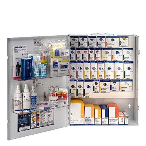 First Aid Only 150 Person XL Metal SmartCompliance First Aid Cabinet Without Medications (90829)