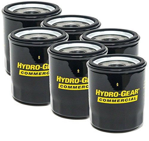 Hydro-Gear 6PK Genuine OEM Hydraulic Oil Filters 52114 Ariens 21545100 Bad Boy 063-1050-00 Toro 109-3321 Ferris Snapper 5101026X1 5101026X1SM Gravely 21545100 Hustler 600976