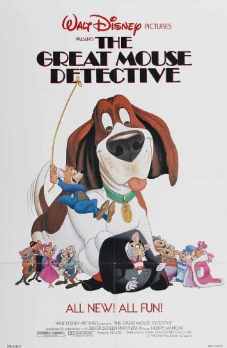 The Great Mouse Detective POSTER Movie (27 x 40 Inches - 69cm x 102cm) (1986) (Style B)