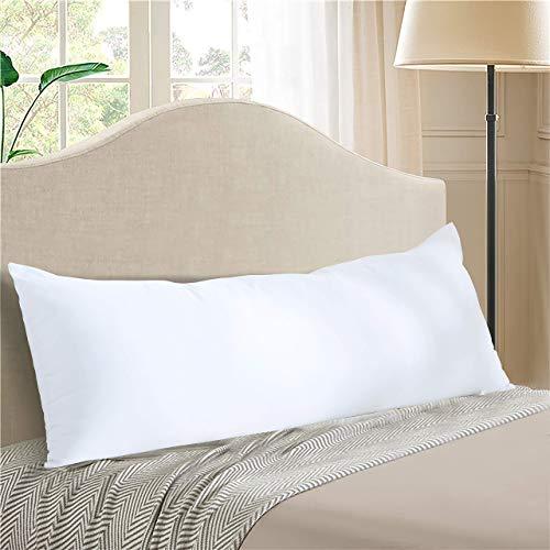 Evolive Ultra Soft Microfiber 21'x54' Long Body Pillow Pregnancy Pillow (21'x54' Body Pillow)