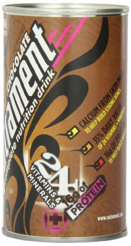 Nutrament Energy and Fitness Drink, Chocolate, 12 Ounce Cans (Pack of 12)