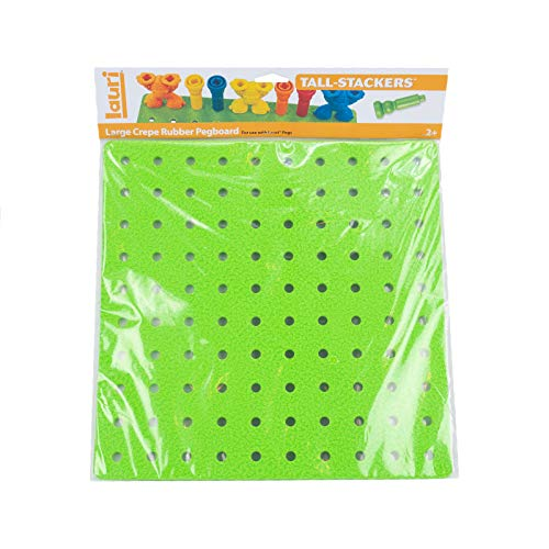 Tall Stacker Lauri Pegboards and Tall Stacker Pegs, Large Pegboard