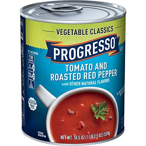 Progresso Vegetable Classics Tomato & Roasted Red Pepper Soup, 18.5 Oz
