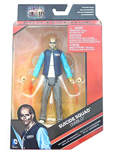 DC Comics Multiverse, Suicide Squad Movie, Diablo Action Figure, 6 Inches