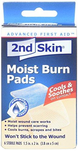 Spenco 2nd Skin Moist Burn Pads, 6 Count
