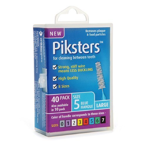 Piksters Interdental Brushes, Size 5 40 ea