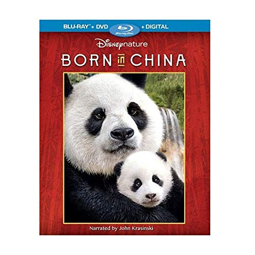 Disneynature: Born in China Blu-ray + DVD