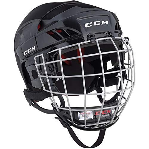 CCM Ht50 Hockey Helmet Combo Black L