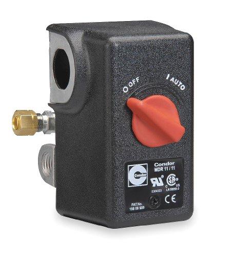 Condor USA, Inc 11LC2E Pressure Swtch, Diaphrgm, Dpst, 120/150 Psi