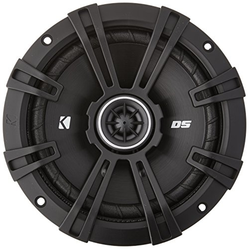 Kicker DSC650 DS Series 6.5' 4-Ohm Coaxial Speakers - Pair