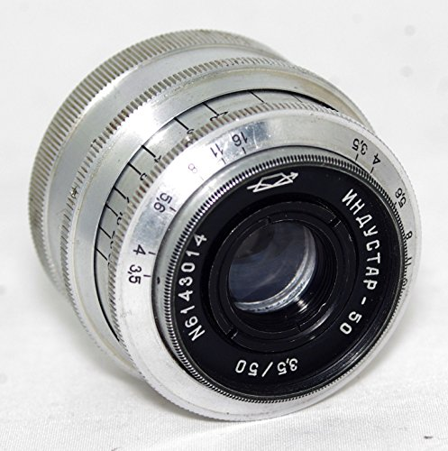 INDUSTAR 50 3.5/50mm LEICA USSR Soviet Union Russian lenses screw M39
