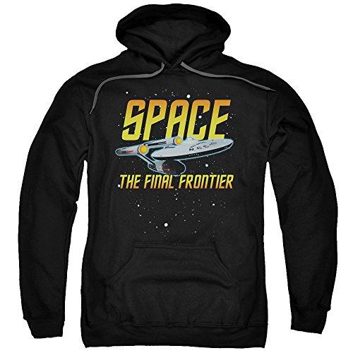 Hoodie: Star Trek - Space Pullover Hoodie Size XL