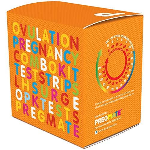 PREGMATE 100 Ovulation and 50 Pregnancy Test Strips Predictor Kit