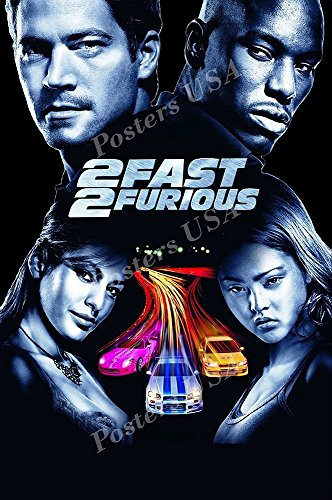 Posters USA - 2 Fast and 2 Furious Movie Poster GLOSSY FINISH - MOV279 (24' x 36' (61cm x 91.5cm))