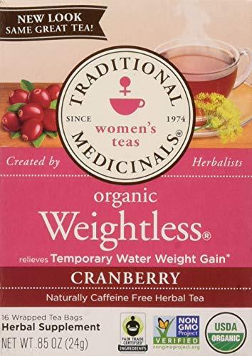 Traditional Medicinals Tea, Weightless Cranberry, 16 Count