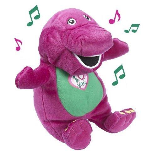 Barney 10' Dinosaur Plush Singing 'I Love You' Rare Soft Stuffed Toy
