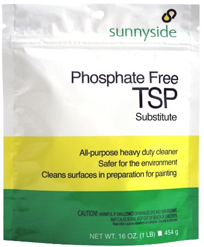 Sunnyside Phosphate Free TSP Substitute All Purpose Cleaner, 1-Pound Pouch