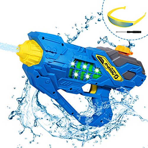 Auney Electric Water Gun for Kids, Long Range Squirt Guns for Adults, Water Shooter for Teens Beach Swimming Pool Water Toys