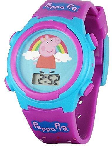 Peppa Pig Kid's Digital Watch with Light Up Feature