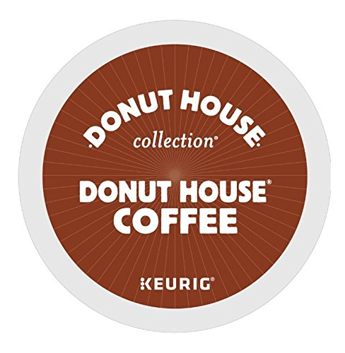Donut House Light Roast Coffee K-Cups, K-Cup Portion Count for Keurig K-Cup Brewers (Count of 80)