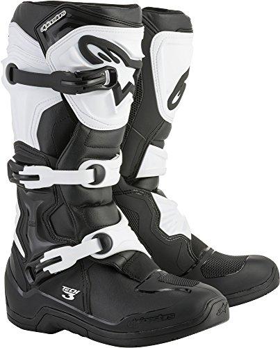 Alpinestars 2013018-12-10 Men's Tech 3 Motocross Boot, Black/White, 10