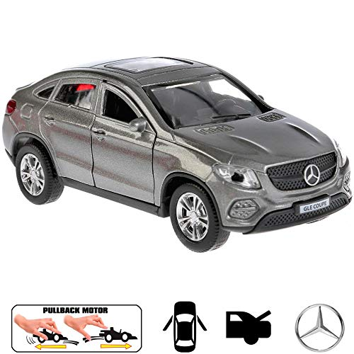 Diecast Metal Model Car Mercedes-Benz GLE Coupe Grey Toy Die-cast Cars