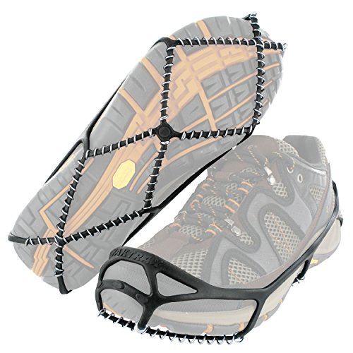 Yaktrax Walk Traction Cleats for Walking on Snow and Ice (1 Pair), X-Small
