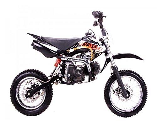 Dirt bike 125cc Semi Auto Clutch, Blue.
