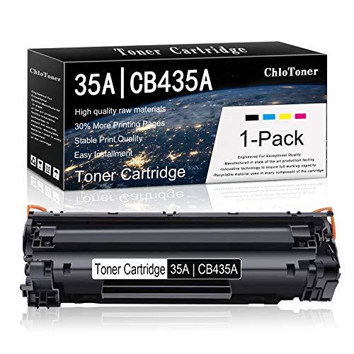 1 Pack Black 35A | CB435A Compatible Toner Cartridge Replacement for HP Laserjet P1002 P1003 P1004 P1005 P1006 P1007 P1008 P1009 Printers Toner.
