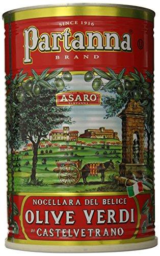 Partanna Premium Select Castelvetrano Whole Olives - 5.5 lbs