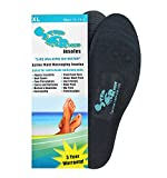 Step Right Insoles Relieves -Plantar Fasciitis- Neuropathy- Poor Circulation- Foot Pain and Heel Spurs (Mens 11-13) (XL)