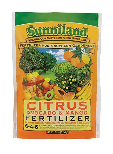 SUNNILAND 120236 Citrus, Avocado and Mango Fertilizer, 5 lb