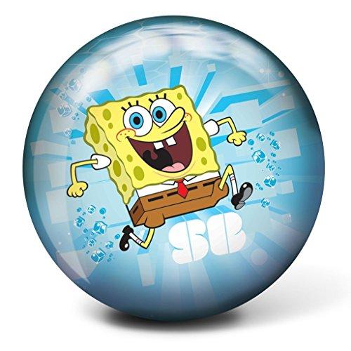 Brunswick Spongebob Squarepants Bowling Ball- Blue (12lbs)