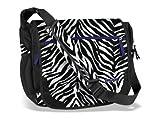 Jansport Elefunk Messenger - Black White Cosmo Zebra