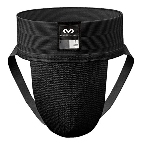 McDavid 3110 Classic Two Pack Athletic Supporter, Black, XX-Large