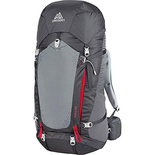 Gregory Mountain Products Zulu 65 Liter Men's Backpack, Feldspar Grey, Small