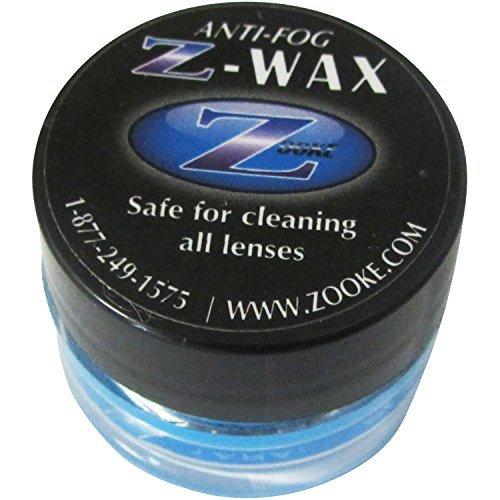 Zooke Anti Fog + Cleaner | Z-Wax Anti-Fog Lens Cleaner