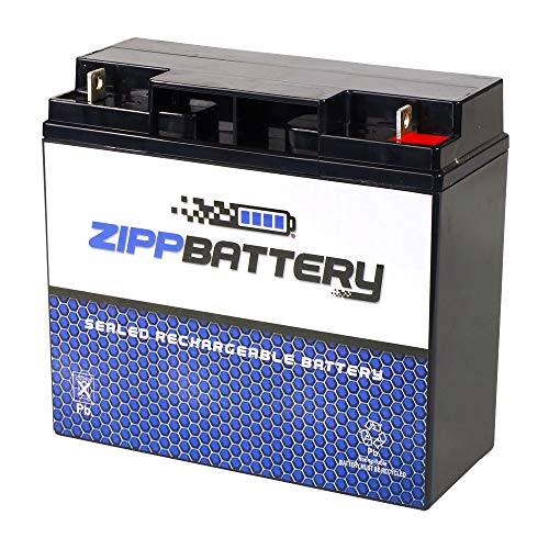 SLA Replacement Battery for 12V 18AH AGM Battery- Replaces wp17-12 d5745 6dzm17 lcr12v17cp ca12180- Zipp Battery