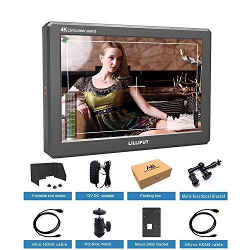 LILLIPUT A8 8.9 Inch Utra Slim IPS Full HD 1920x1200 4K HDMI 3D-LUT On-Camera Video Field Monitor for DSLR Camera Video BY USA official seller VIVITEQ