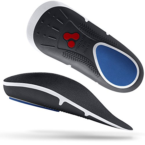 Protalus M75 Max Series– Patented Stress Relief Add-On Premium Shoe Inserts, Increase Comfort, Anti Fatigue, Alignment Improving Shoe Insoles - for Women Size 7.5-8