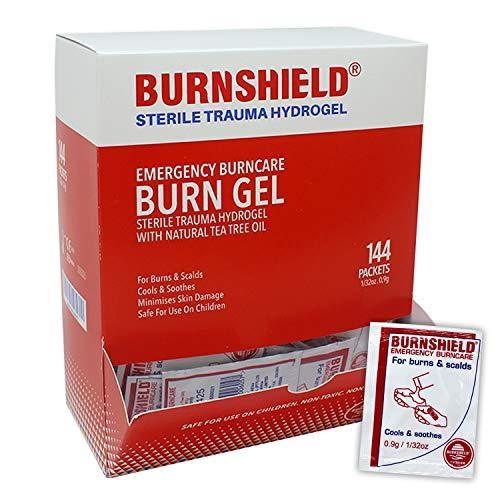 Burnshield Burn Relief Hydrogel .9g Packets - 144 Count