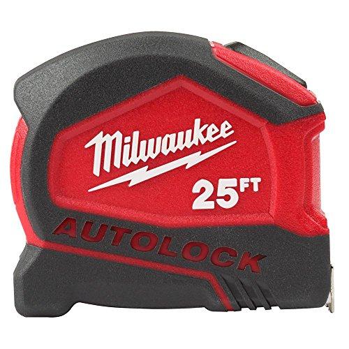 Milwaukee 48-22-6825 25 Foot Compact Auto Lock Tape Measure