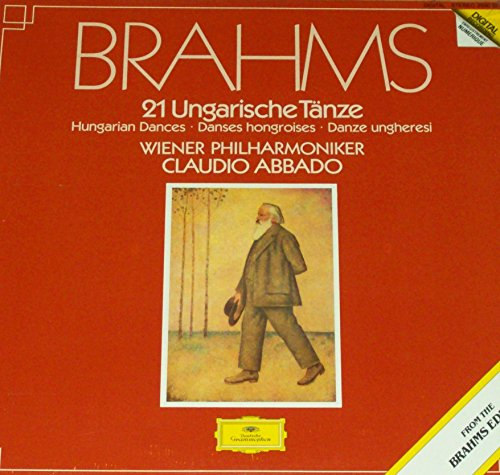 Brahms - 21 Hungarian Dances - 12' vinyl LP - Abbado - DG 2560 100 digital audiophile