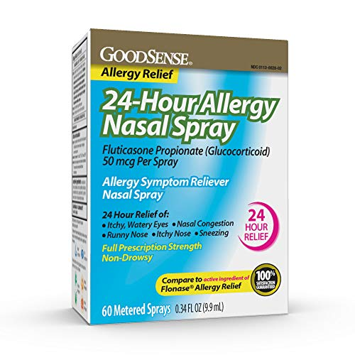GoodSense 24-Hour Allergy Nasal Spray for Runny Nose and Allergy Relief