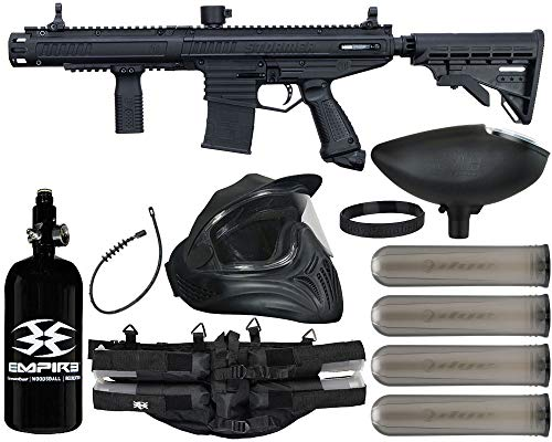 Action Village Tippmann Stormer Elite Dual Fed Paintball Gun Legendary Package Kit